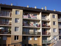 Les inévitables papys au balcon