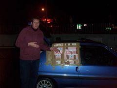 Merci aux Rennais pour cette Yaggymobile version moldave... <_<