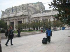 Changement à Milano Centrale