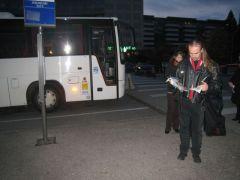 Départ en bus à l'aube pour remplacer le TER de Chambéry supprimé...