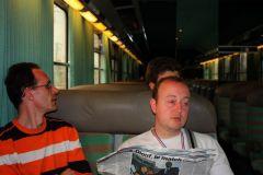 retour en train sur Paris