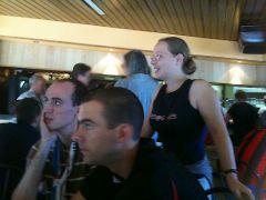 Retrouvailles avec les autres Hex@s au Bar du Stade
