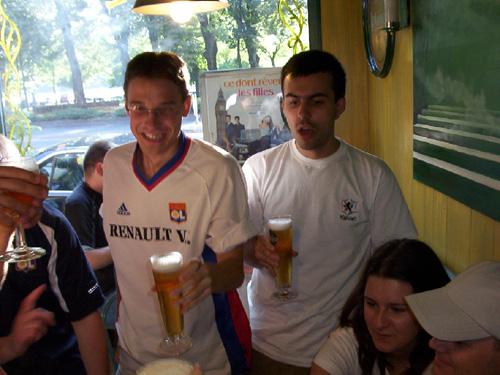 Avant-match : Alex et Wiwi
