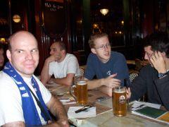 Après-match aux Trois Brasseurs : Titouplin, Charly...