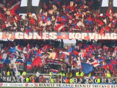 Super animation du Virage Nord (Bad Gones)