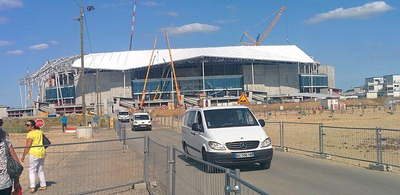 Visite Grand Stade, Juillet 2015