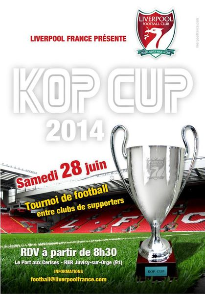 Tournoi Kop Cup 2014