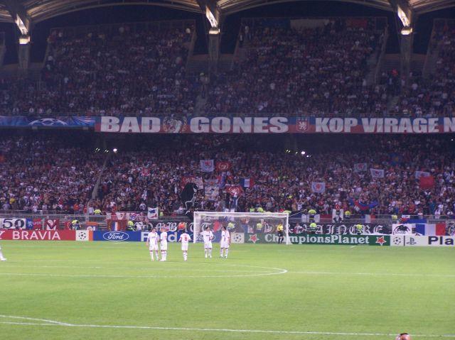 Lyon - Glasgow Rangers 07/08