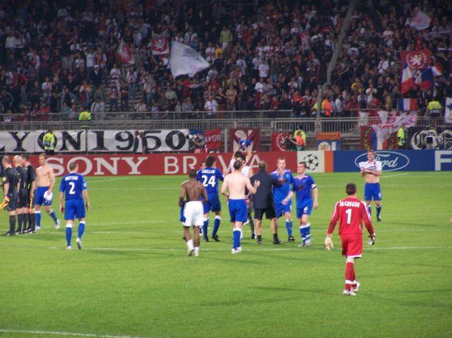 Fin du match
