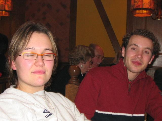 Julie et Mat au resto
