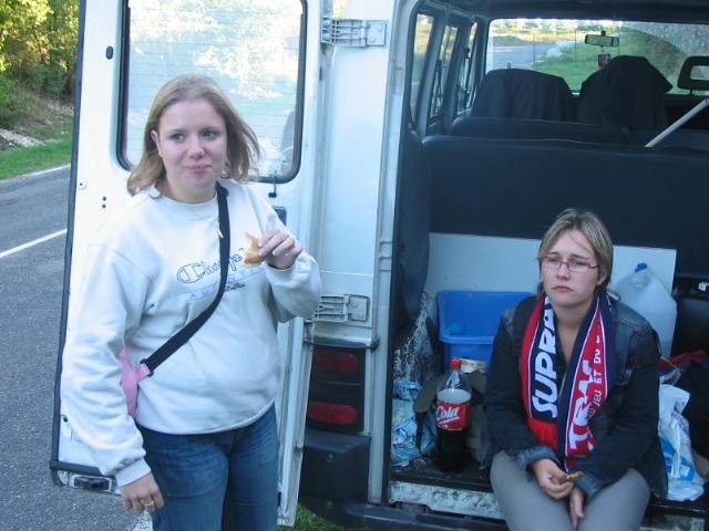 Vanus et Julie au cul du camion