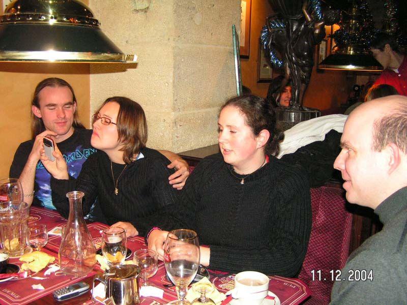 Gilles, Julie, Nelly et Titouplin