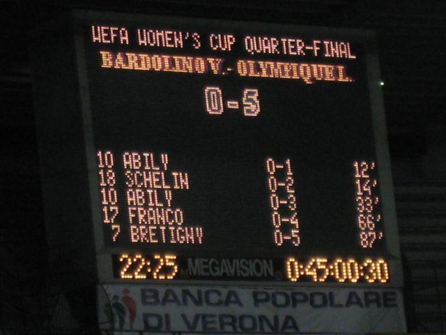0-5, score final !