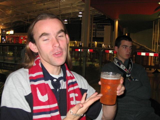 Et la bière coule à flots oh yeaaahh