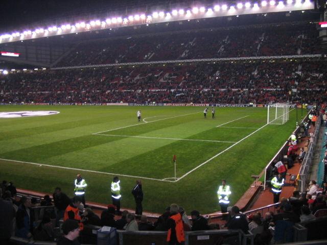 L'intérieur est splendide, le stade fait pour le foot