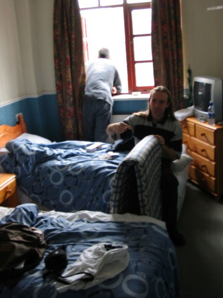 La chambre d'hotel que l'on a squatté