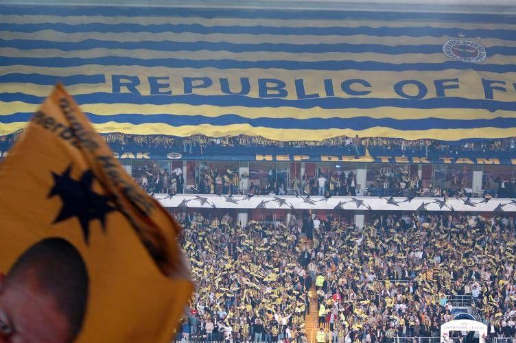 """Partie gauche du bien-connu """"Republic Of Fenerbahçe"""""""